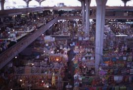 Market in the interior of a building