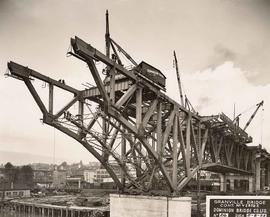 No. 26 - Granville Bridge, course of construction
