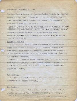 [Meeting Minutes between Jan. 22, 1948 and Dec. 16, 1948]