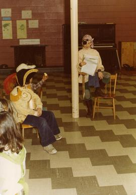 Hebrew School Purim Party - March 6, 1977