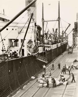 "Silk shipped from the Orient to Vancouver on the SS ""Achilles"""