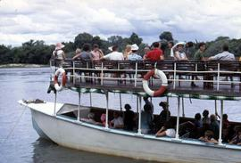 Zambezi River safari boat cruise