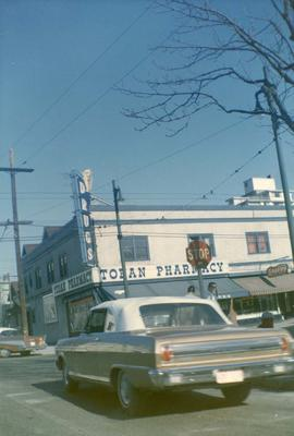 [Toban Pharmacy at Bute and Davie Street]