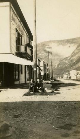 Dawson City 1930 - Outside Office