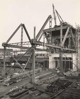 No. 4 - Granville Bridge, course of construction