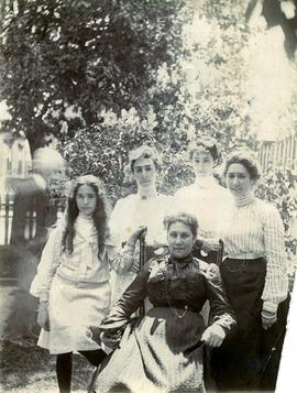 Cecelia, wife of Frank Sylvester, with daughters