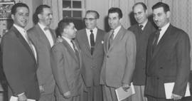 Group of unidentified men, B'nai B'rith