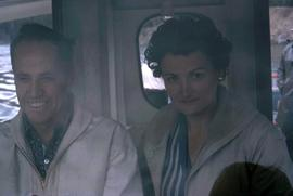 Phyliss Snider appearing to be on a river boat