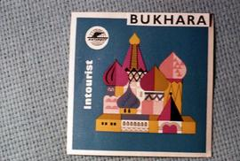 Intourist brochure for Bukhara