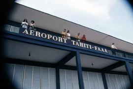 Faa'a International Airport on the island of Tahiti, French Polynesia