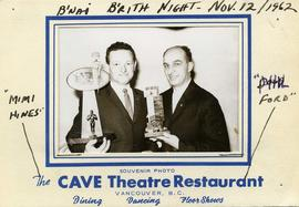 B'nai B'rith Night - Nov. 12 / 1962