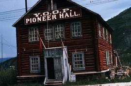 Y.O.O.P (Yukon Order of Pioneers) Pioneer Hall in Dawson City