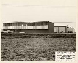 Exterior of Smith Lithograph's New Plant