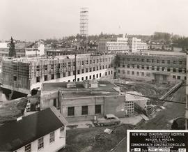No. 19, Facing S.E. - New wing, Shaughnessy Hospital, Vancouver, B.C.