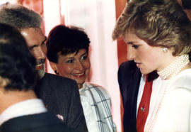 Diana Princess of Wales at Elephant & Castle