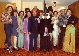 Purim 1976 - Held at the Freeman's N. Burnaby, A Great, Fun Evening - 75 in attendance