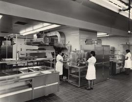 Kitchen of the Louis Brier Home and Hospital