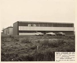 Exterior building, Smith Lithograph Co. Ltd., New Plant