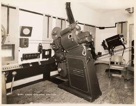 Dual light contol station in theatre projection room