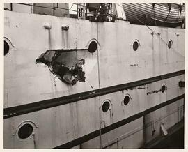 "Damage to MS ""Coquitlam II"", Union Steamship Company"