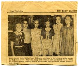 Newspaper Clipping - September 7, 1940