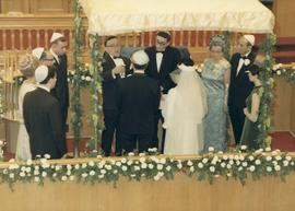 [Shirley Barnett's (nee Dayson)  wedding ceremony]
