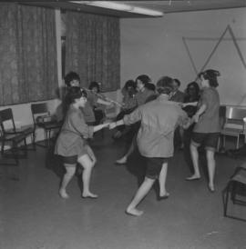 Young girls dancing at Jewish Community Centre