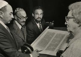 Dedication of New Torah