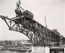 No. 28 - Granville Bridge, course of construction