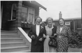 Rose Soskin and sisters Dorothy Colle of Montreal, Hattie Sigler of Calgary