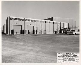 Trans-Canada Air Lines Maintenance Base upon completion, Vancouver International Airport , no. 5