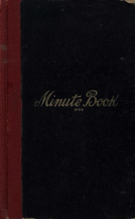 [Jewish Benevolent Society of Trail and Rossland, British Columbia] Minute book