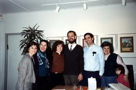 Unidentified group at Hillel House, University of British Columbia