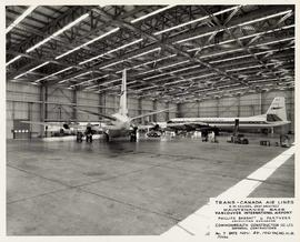 Trans-Canada Air Lines Maintenance Base upon completion, Vancouver International Airport, no. 7