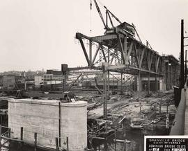 No. 15 - Granville Bridge, course of construction