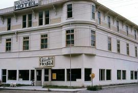 Golden North Hotel building in Skagway, Alaska