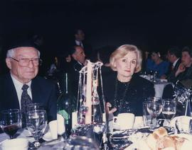 60th anniversary [- Dr. Irving and Phyliss Snider sitting at a table]