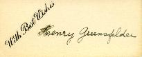 Wedding letter from Henry Greensfelder, [April 1933]
