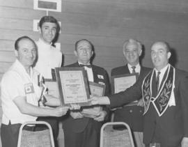 B'nai Brith Convention, Harry Herman wins Grand Presidents Citation