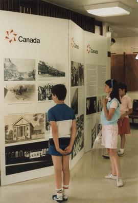 Canada display at the JCC
