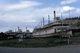 SS Klondike at display in Whitehorse, which operated between Whitehorse and Dawson City until 1936