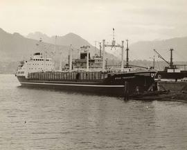 "SS ""Stove Transport"" in Vancouver Harbour"