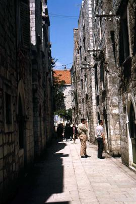 One of Dubrovnik's narrow streets