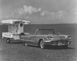 'Win This Car', T-Bird convertible