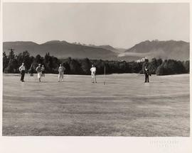 Shaughnessy Golf & Country Club, golfers on green