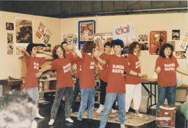 Children in 'Bagel Boulevard' t-shirts - Beth Tikvah Hebrew High School