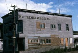 Madame Tremblay's Store, a clothing store