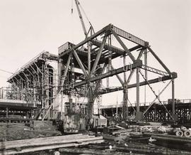 Granville Bridge - course of construction