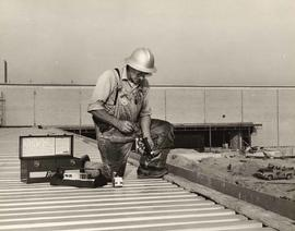 Ramset Tools Ltd., construction worker with tool in hand