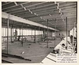 Smith Lithograph Co. Ltd. - Construction on new plant, Lulu Island, B.C.
